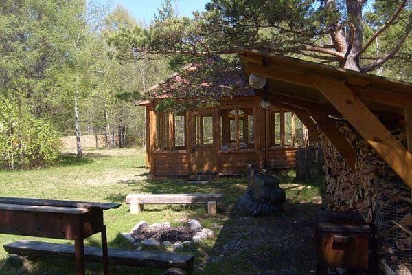 Малая туристическая деревня Хрустальный колодец на Байкальском тракте