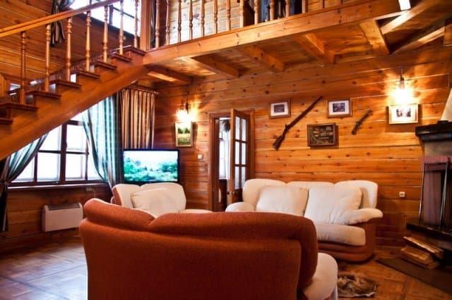 Лесной отель в Листвянке. Коттедж Кантри