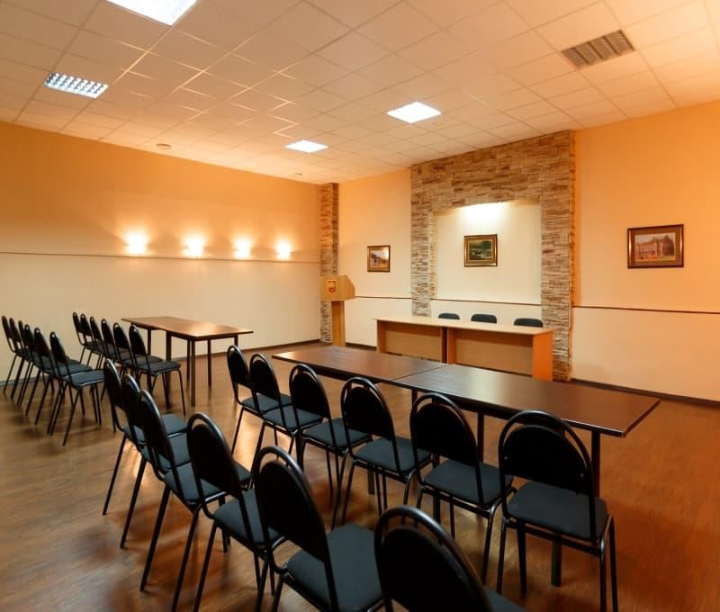 Малый конференц зал в гостинице Прибайкальская