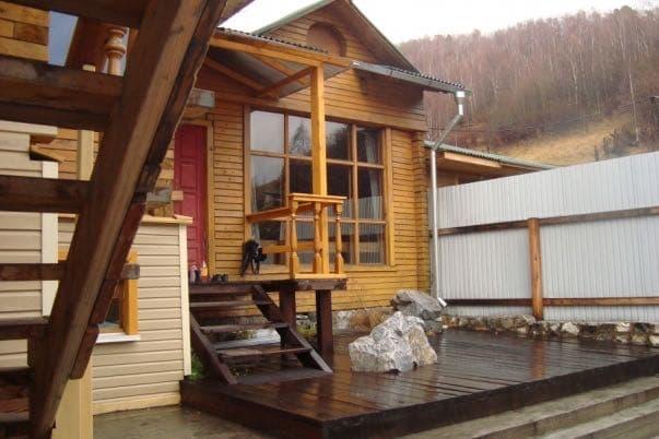 Гостевой дом Парадиз на КБЖД, Порт Байкал