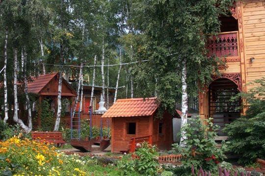 Усадьба Марьина роща, поселок Аршан