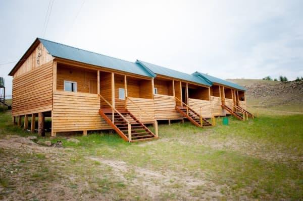 База отдыха Наратэй на Малом море, Неблагоустроенный номер (эконом-домик)