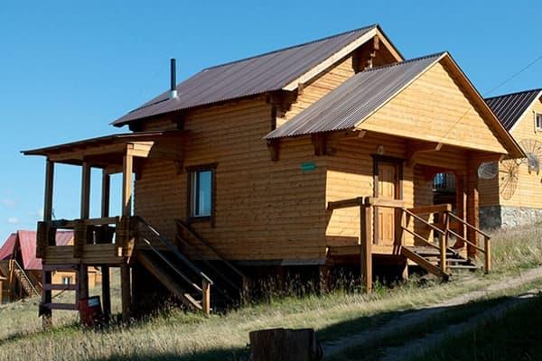 Гостиный двор Баяр на Малом море оз. Байкал, Бунгало  двухэтажный №2