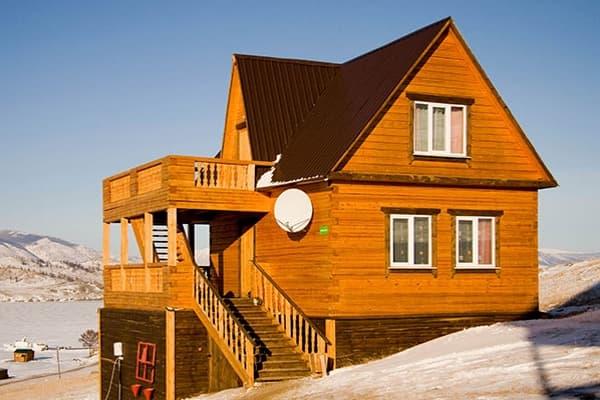 Гостиный двор Баяр на Малом море оз. Байкал, Бунгало  двухэтажный №5