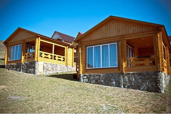 Гостиный двор Баяр на Малом море оз. Байкал, Бунгало  одноэтажный