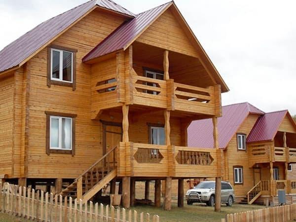 Гостиный двор Баяр на Малом море оз. Байкал, гостевые дома 1,4,11