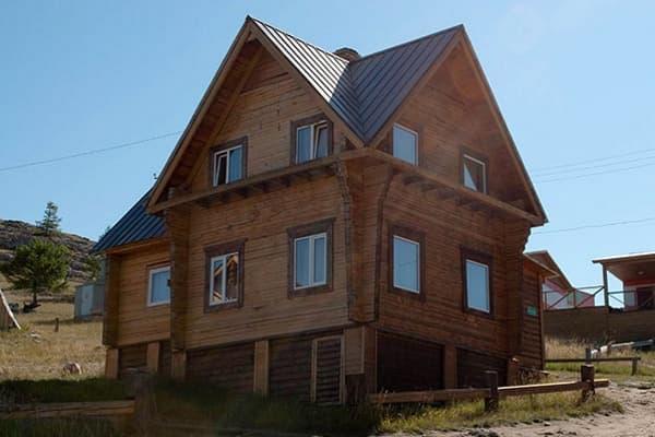 Гостиный двор Баяр на Малом море оз. Байкал, Бунгало  двухэтажный №1