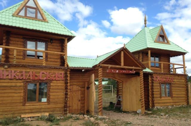 База отдыха Байкальская сказка на Малом море, Коттедж-башня