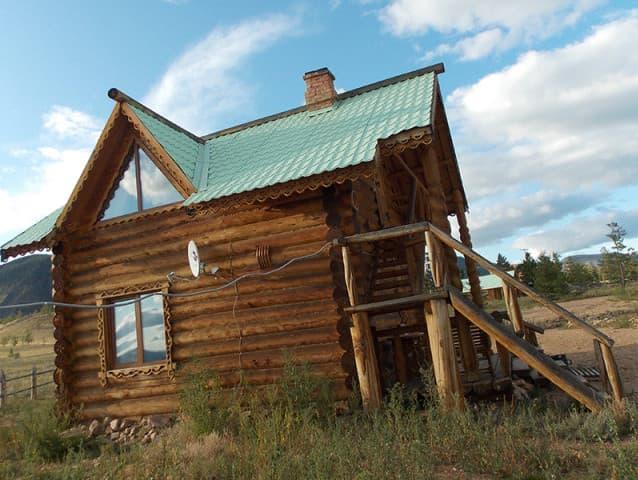 База отдыха Байкальская сказка на Малом море, благоустроенный дом № 2