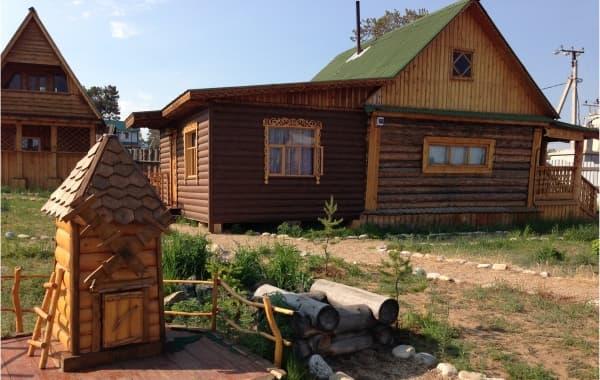 База отдыха Отдых на Байкале на острове Ольхон, благоустроенный дом