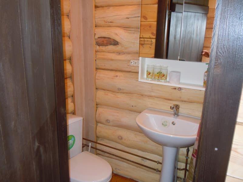 Гостевой дом Ольхон-Байкал на острове Ольхон, Домик стандарт 3х-местный, санузел