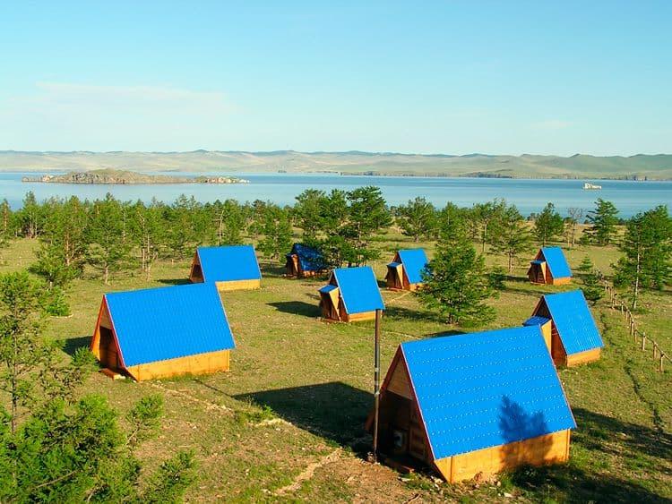 База отдыха Ранчо Лагуна на Малом море, оз. Байкал, домик летний