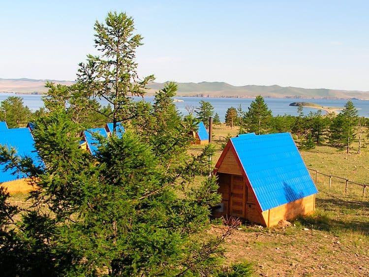 База отдыха Ранчо Лагуна на Малом море, оз. Байкал, домик утепленный эконом
