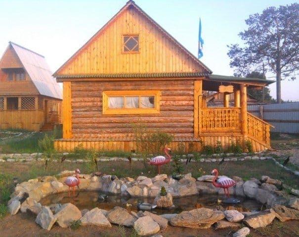 База отдыха Отдых на Байкале на острове Ольхон, домик-эконом