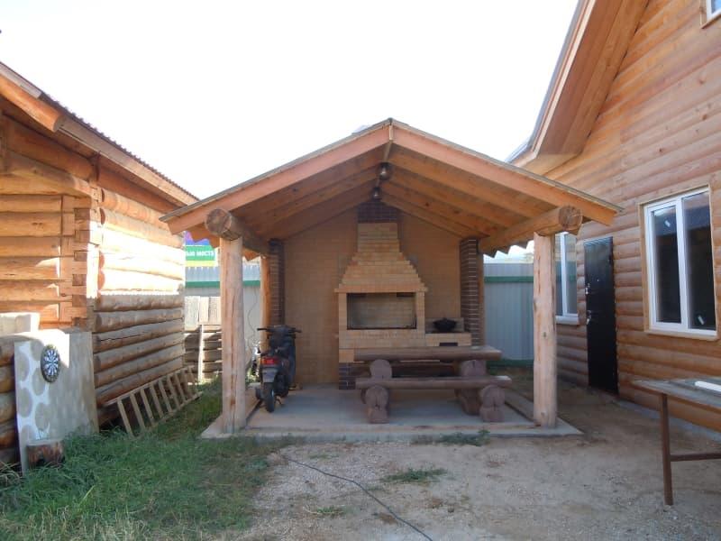 Гостевой дом Ольхон-Байкал на острове Ольхон, пикниковая зона