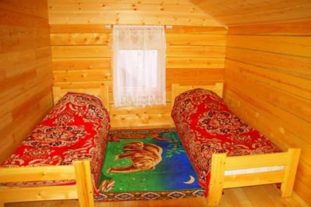 Усадьба Ковчег Байкала на Малом море, неблагоустроенный коттедж, номера