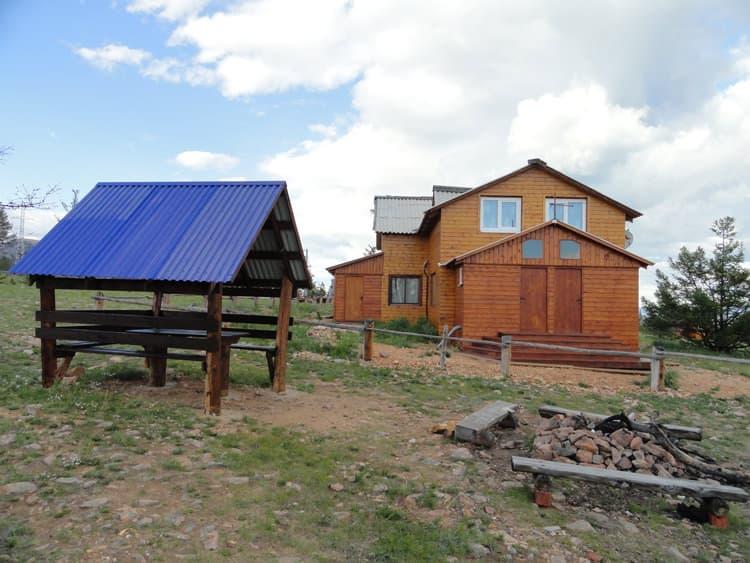 База отдыха Ранчо Лагуна на Малом море, оз. Байкал, благоустроенный 2х-местный номер