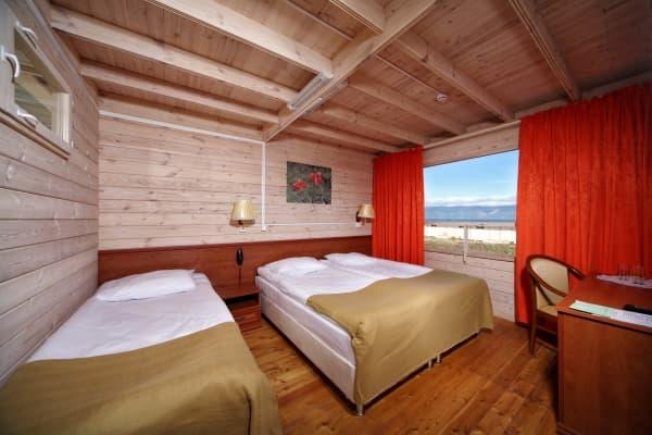 Отель Baikal view hotel на Байкале (о. Ольхон), номер первой категории, DBL