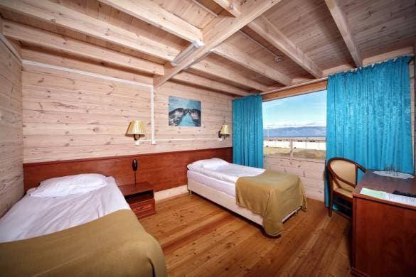 Отель Baikal view hotel на Байкале (о. Ольхон), номер первой категории, TWIN