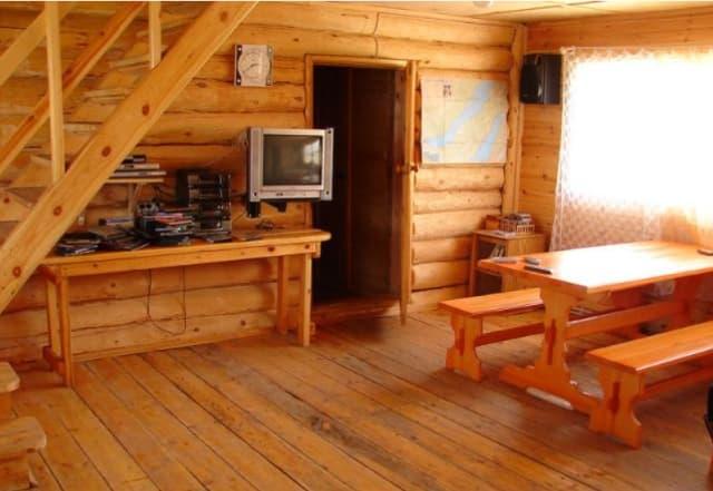 Усадьба Ковчег Байкала на Малом море, новом корпусе, холл
