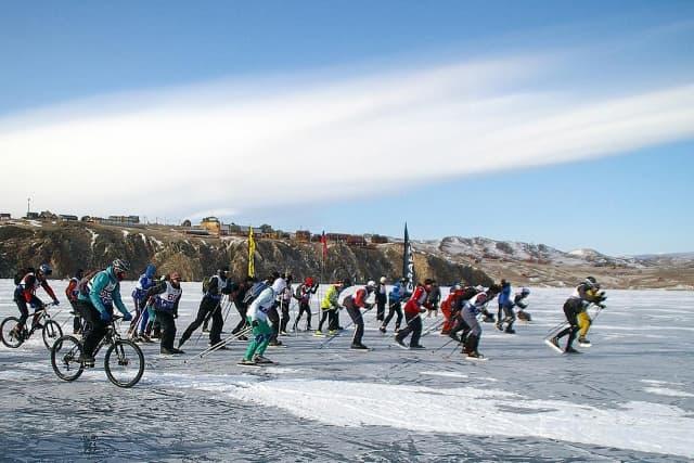 Байкальский ледовый фестиваль Сарминский шквал