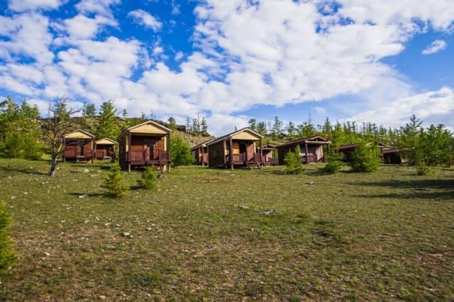 База отдыха Чара на Байкале (Малое море), Эко-домики