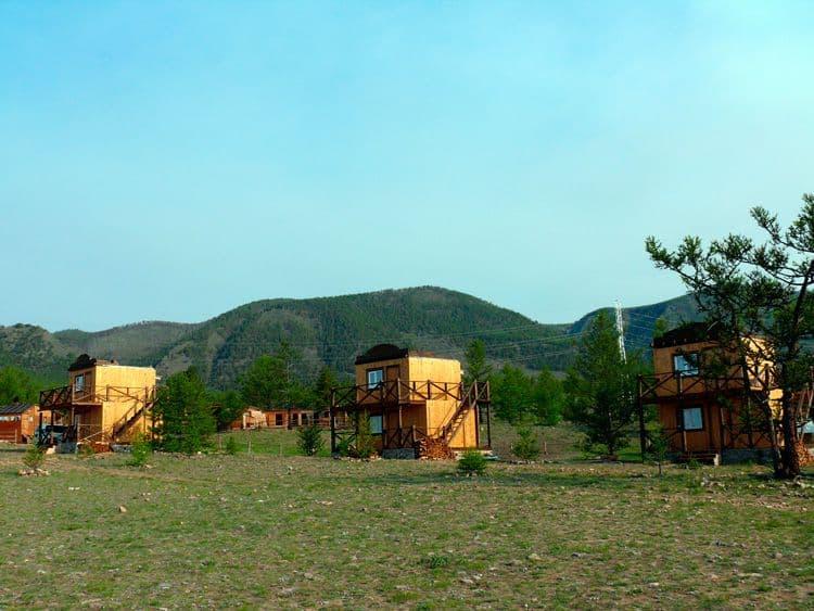 База отдыха Ранчо Лагуна на Малом море, оз. Байкал, 2х этажные коттеджи