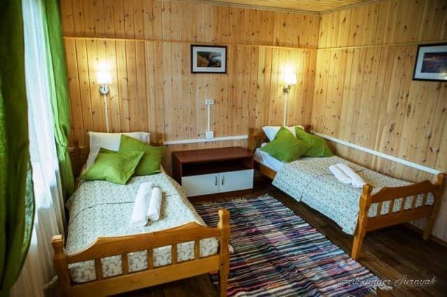 База отдыха Чара на Байкале (Малое море), номер комфорт 2х-местный