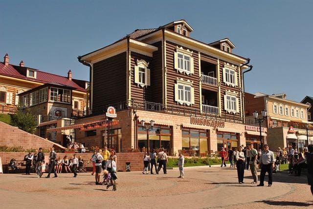Иркутск, туристический центр - 130-й квартал