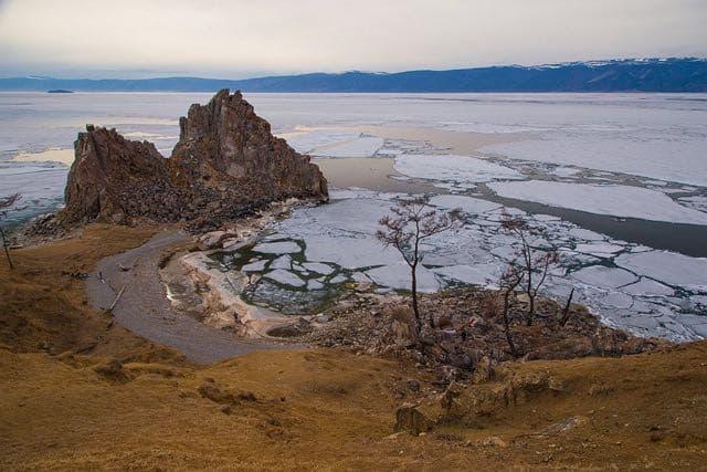 Мыс Буран на острове Ольхон