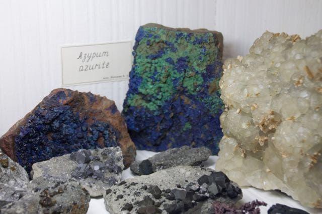 Музей минералов в Сюдянке