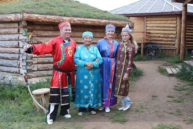 Этнокомплекс Бурятская деревня