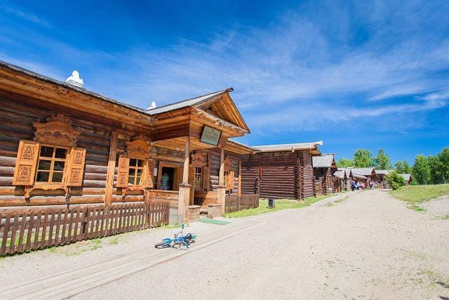 Архитектурно-этнографический  музей Тальцы