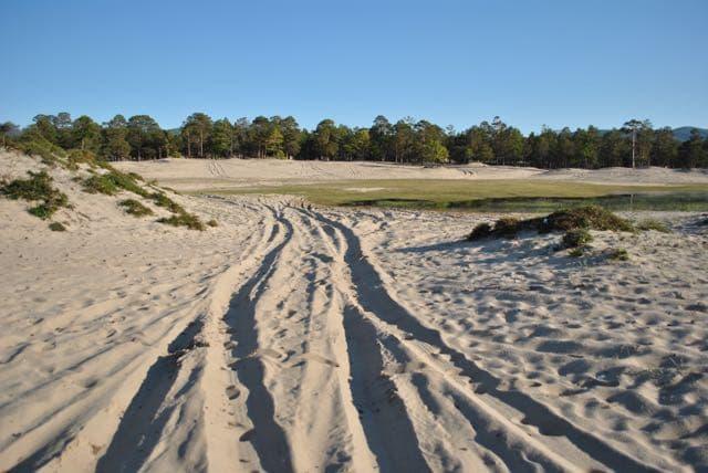 По песчаным дюнам к мысу Хобой