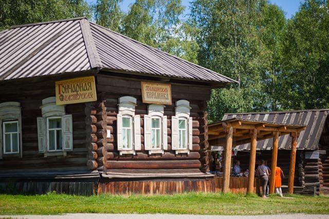 Этнографический музей под открытым небом Тальцы