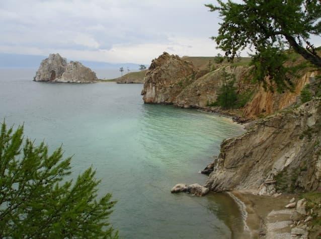 Остров Ольхон, скакла Шаманка