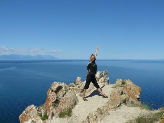 Северная оконечность острова Ольхон на Байкале