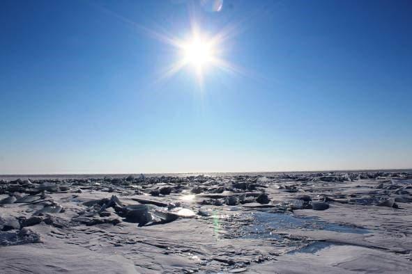 Ледостав на Байкале 2017 г.