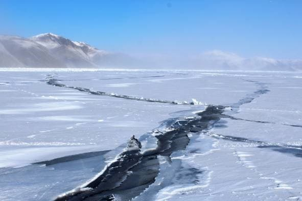 Становые щели на Байкале