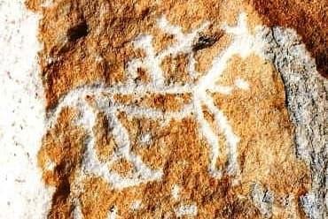 Древние писаницы на Байкале