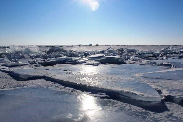 Ледовый период на Байкале