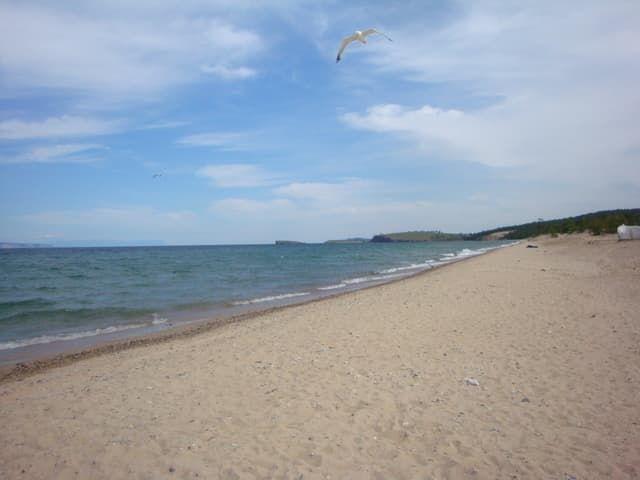 Сарайский пляж на острове Ольхон