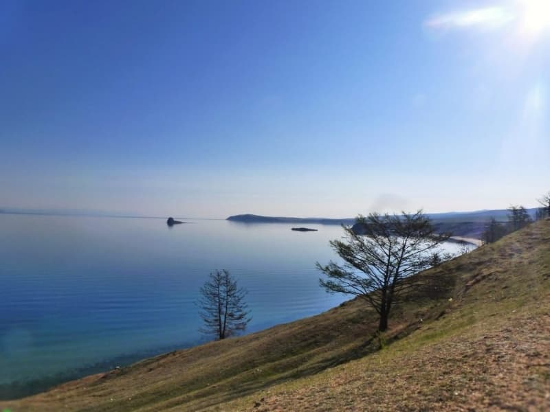 Усадьба У Петра, остров Ольхон, побережье Байкала