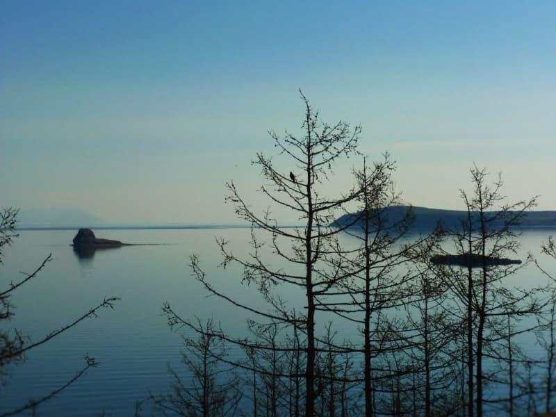 Усадьба У Петра, остров Ольхон, вид на Байкал