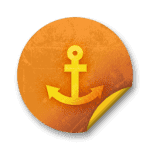 039707-orange-grunge-sticker-icon-transport-travel-anchor6-sc48