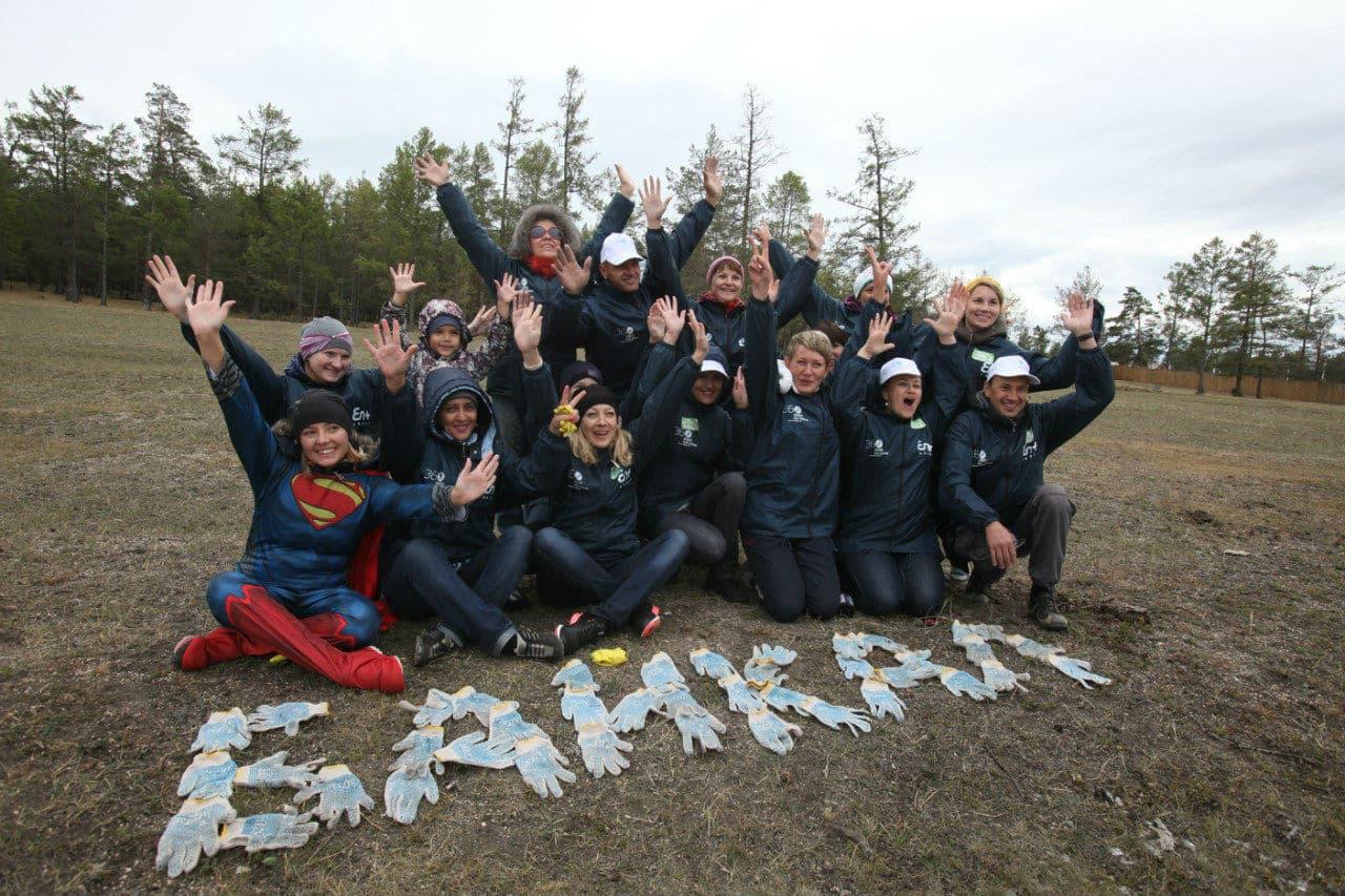 Экологическая акция  з60 минут ради Байкала